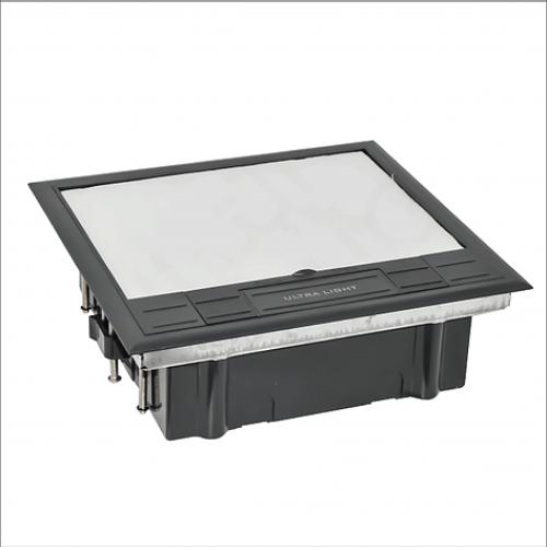 Quadruple floor box (624AS)
