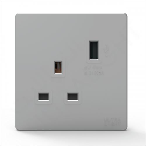 DUNE Electric socket with USB (B12-029- USB)