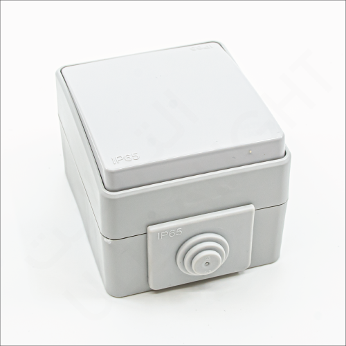 1 gang Outdoor switch (M65/L1/2)