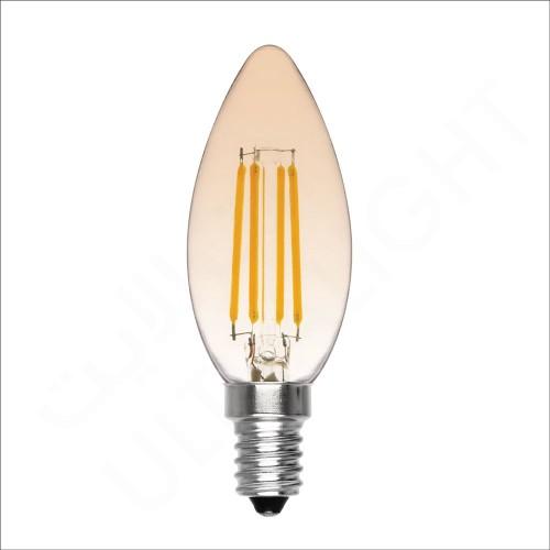 6W Bulb E14 (C37-GOLDEN)