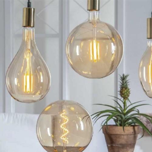 Colored 8W bulb E27 (A165)