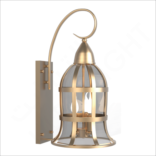Copper wall light E14 (6080)