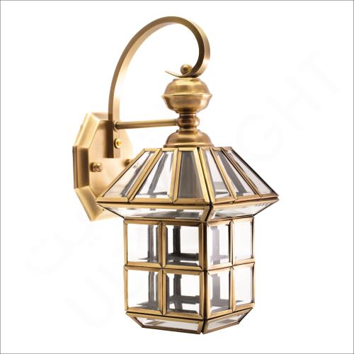 Copper wall light E14 (61020)