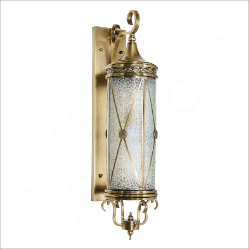 Copper wall light (61048)