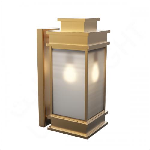 Copper wall light E27 (10932)