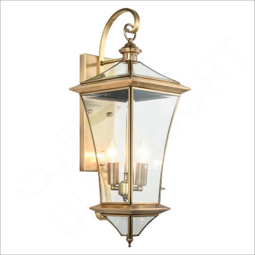 Copper wall light E14 (61031)