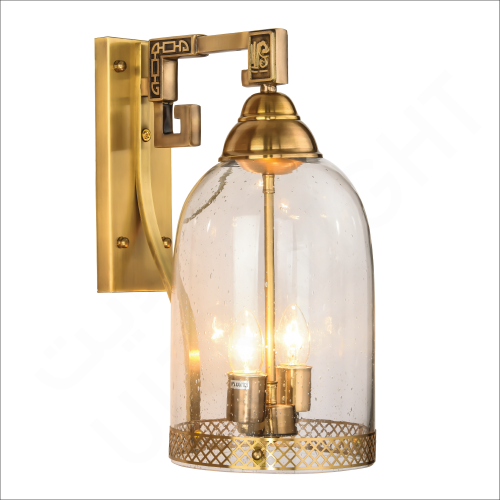 Copper wall light (5811)