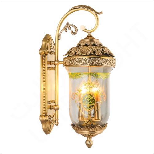 Copper wall light E14 (L0889)