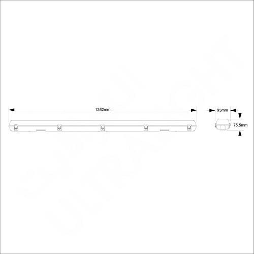 Wall pack lighting fixture (ZNSF212B)