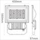 500W Flood light (ZY-2004-500W)
