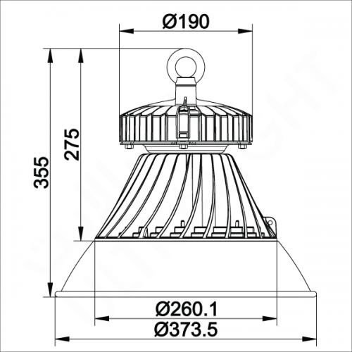240W High bay light (FYL0044)
