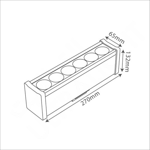LED Wall washer (BR7816)