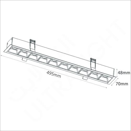 30W Linear light (6709)