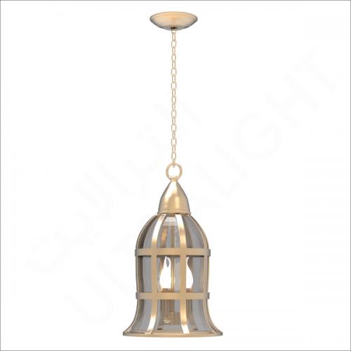 Copper pendant light fixture E14 (6081)
