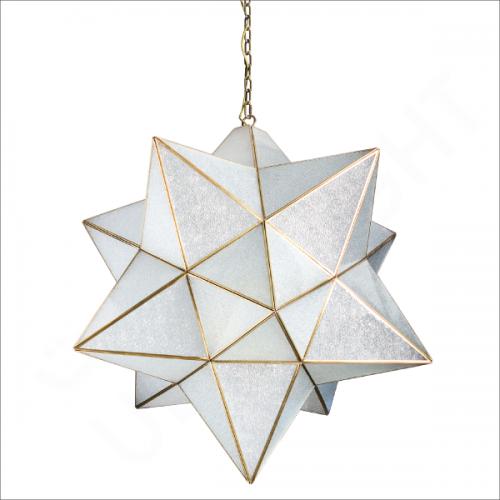 Copper pendant light fixture E27 (91008)