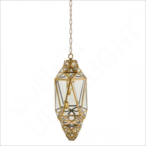 Copper pendant light fixture E27 (P0983)