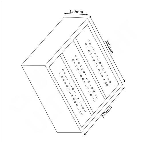 150W Ceiling flood light (YD140609-GS)