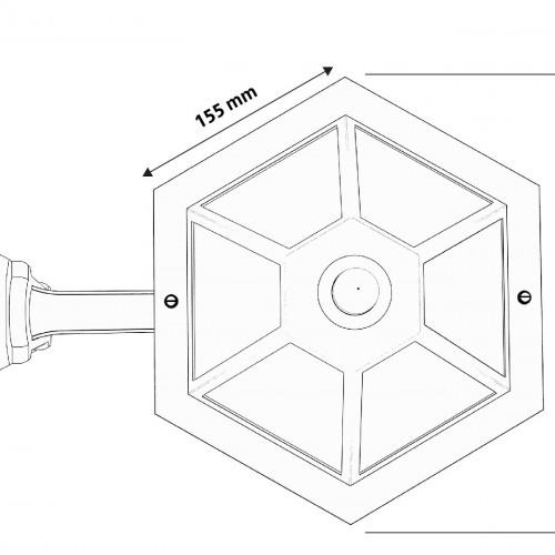 Solar wall light (ULT-51308)