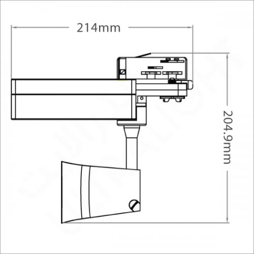 10W Track light (BR8012)