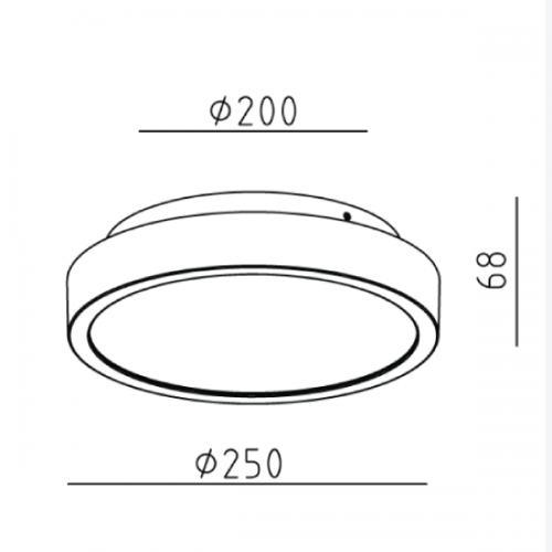 18W Surface Mounted light (5761)