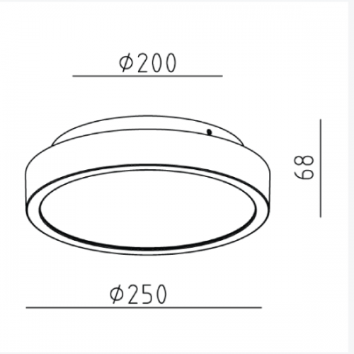 18W Surface Mounted light (5762)