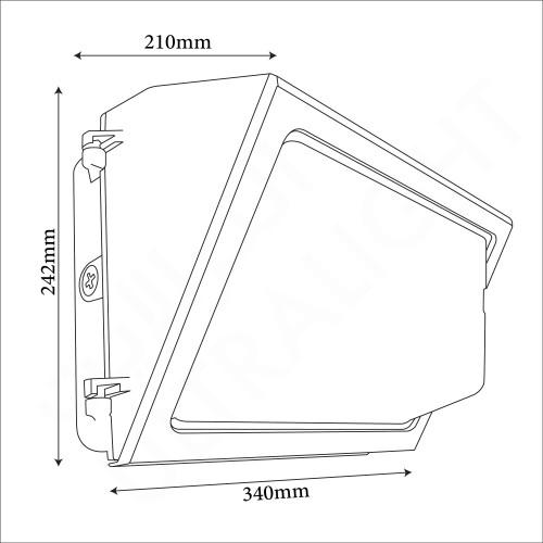 120W Wall pack light (FYL0110)